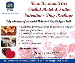 roseville ca hotel valentine s day package special