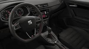 new seat ibiza interior panoramic view fr