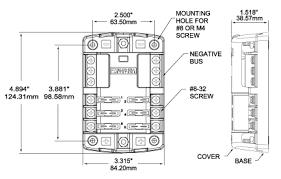 boat fuse block wiring diagram new blue sea systems st blade fuse  at Blue Sea Systms Wiring Diagrams