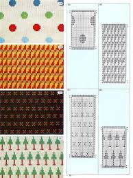 Knitting Cards Designs Pattern Library For Punch Card Knitter Fairisle Tapestry