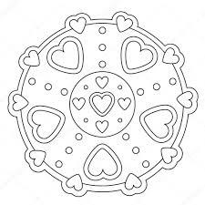25 Ontwerp Eenvoudige Dromenvanger Maken Kleurplaat Mandala