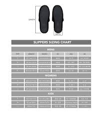 Womens Slipper Size Chart Ttg Slippers Blue Stereotypetees