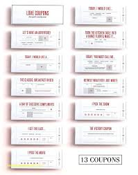 Ideas For Boyfriend Coupons Redeemable Coupons For Boyfriend The Best Love Ideas On Coupon Books