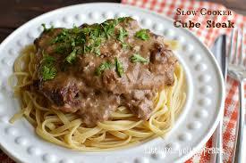 crock pot cube steak with cream of