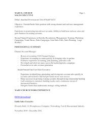 Inside Sales Job Description Resume Resume For Your Job Application