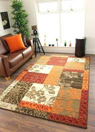 navy and orange outdoor rug modern rugs