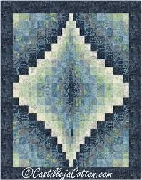 175 best Quilted Wall Hangings images on Pinterest & Fat quarter friendly wall hanging pattern. Bargello Jewel Quilt Pattern  CJC-49252 by Castilleja Adamdwight.com