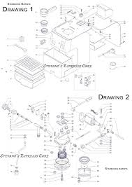schematic pdf links and manuals espressocare saeco starbucs barista