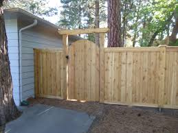 Mikes Fence Intended For Wooden Fence Gates Decorating
