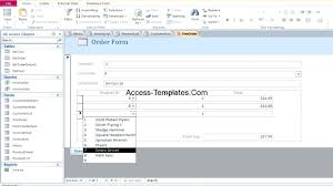 Access Project Management Template Contract Management Access