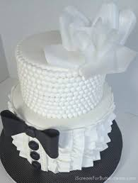 How To Make A His And Hers Wedding Shower Cake I Scream For