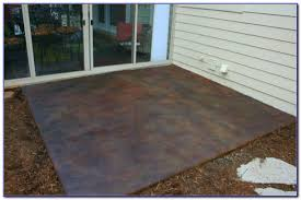 how to clean cement patio stains patios home