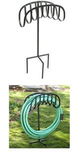 liberty garden hose stand decorative holder fascinating free standing