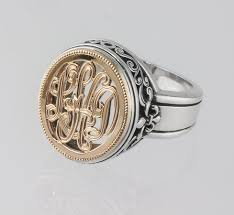 symmetry jewelers designers hand end monogram jewelry by tom mathis