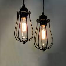 wireless lighting fixtures. vintage retro loft pendant lamp iron metal hanging light fixture classic design restaurant bedroom wireless lustre lighting fixtures e