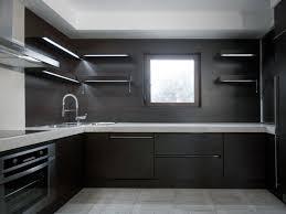 Kitchen With Dark Cabinets Dark Small Kitchen Quicuacom