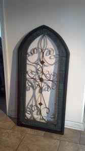 cathedral window on wall art metal wood with cathedral wall hanging window metal wood wall decor westwood pavillion