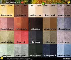 Concrete Floor Color Chart Lastiseal Concrete Floor Stain Color Chart