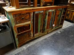 sideboard cabinet colorful reclaimed wood furniture s denver
