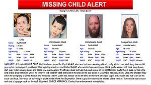 Alert cancelled for missing Ohio children