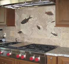 Mural Tiles For Kitchen Decor Fossil Applications For The Home Office Kitchen Yacht