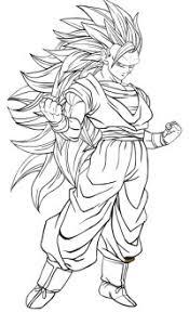 Stampa E Colora Goku Stanco E Fiero Dragon Ball