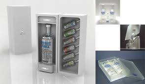 project dels absolute vodka gift set package design