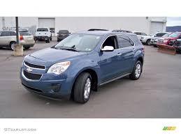 2011 Twilight Blue Metallic Chevrolet Equinox LT AWD #73142505 ...