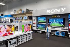 sony tv best buy. at this best buy in san francisco\u2014and big box stores all over the country sony tv