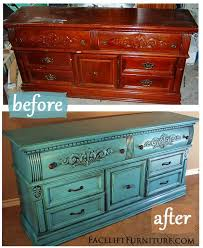 distressed turquoise furniture. Furniture Making Diy Projects Distressed Turquoise Dresser To