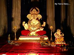 home decor view decoration for ganesh festival at home decorate