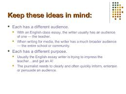 journalism writing vs english writing journalism kent state university 2
