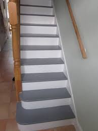 Painted Stairs Niall And Mitch Got Hitched Painted Stairs Main Floor