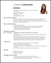 Cv Vitae Modelo Curriculum Vitae Cuidador Ejemplo Cv Livecareer