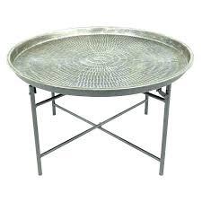 small metal table wonderful metal table tray round tray table round table simple round end tables