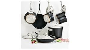 """<b>Набор кухонной</b> посуды Anolon """"Нувель Купер Люкс"""", <b>11</b> ..."""