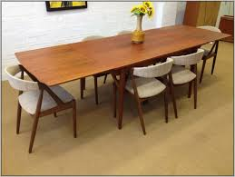 interior good looking mid century dining table 12 copy modern room with exciting set vine and
