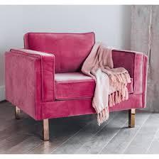 lexington mid century modern velvet accent chair
