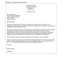 Sample Thank You Letter After Job Interview Best Interview Thank You ...