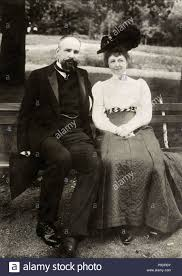 Portrait of the Prime Minister of Imperial Russia Pyotr Stolypin with his  wife. Museum: State History Museum, Moscow Stock Photo - Alamy