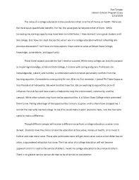 College Education Essay College Essays Example College Education Essay Co College Education