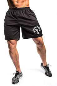 Muscle Works <b>Gym</b> Mens <b>Fitness Shorts</b> Mesh Airtex Training MMA ...