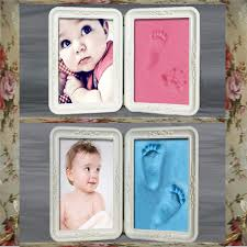 other warehouse send me purchase update on messenger newborn baby hand foot prints photo frames