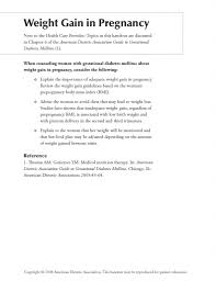 Diabetes Weight Chart Baby Weight Chart During Pregnancy Pdf Format E Database Org