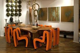 phillips collection furniture. Philips Collection Furniture Seat Belt Dining Chair Orange Phillips Price