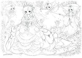 Anime Coloring Page Printable Girl Pages Free For Adults Fish Bowl