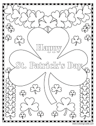Small Picture 259 Free Printable St Patricks Day Coloring Pages