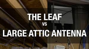 antenna for cord cutters leaf vs large aerial attic antenna