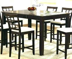 high dining table set medium size of counter height dining table erfly leaf set high room