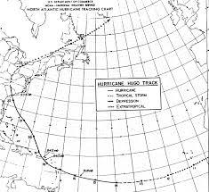 Hurricane Hugo September 1989